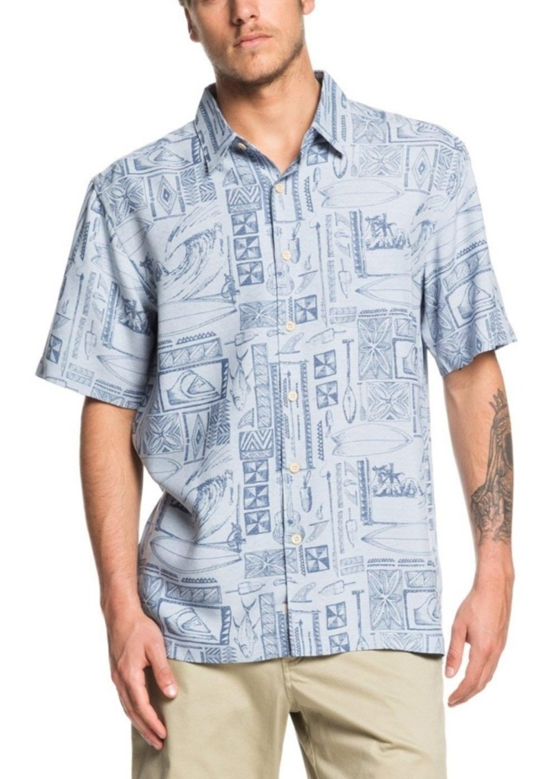 Quiksilver Waterman Men's Vaianae Bay Shirt