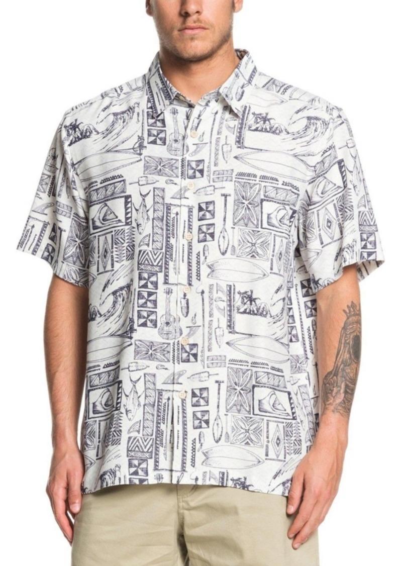 Quiksilver Waterman Men's Vaianae Bay Shirt