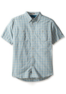 Quiksilver Waterman Men's Wake UV Protection Button Down Shirt  M