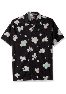 Quiksilver Waterman Men's Waterfloral Woven Shirt Black L
