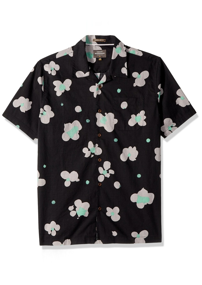 Quiksilver Waterman Men's Waterfloral Woven Shirt Black L