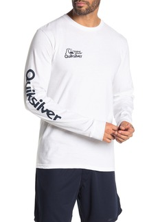 Quiksilver Regular Fit Bouncing Heart Long Sleeve Shirt