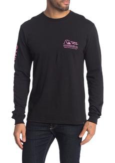 Quiksilver Regular Fit Daily Wax Long Sleeve Shirt