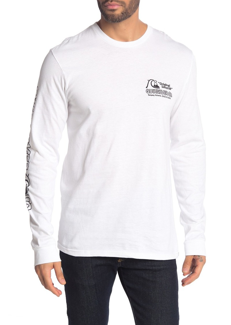 Quiksilver Regular Fit Daily Wax Long Sleeve Shirt