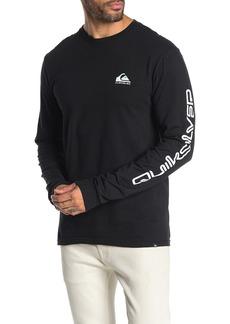 Quiksilver Regular Fit Omni Logo Long Sleeve Shirt