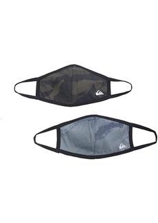 Quiksilver Reversible Face Masks 2 Pack