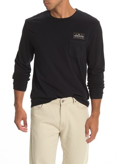 Quiksilver Shadower Pocket Graphic Long Sleeve T-Shirt