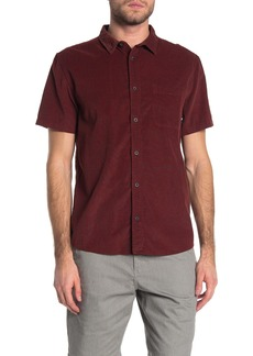 Quiksilver Short Sleeve Button Down Corduroy Shirt