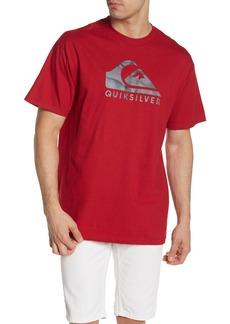Quiksilver Smoke Waves Regular Fit Crew Neck Tee