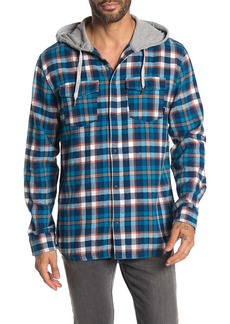Quiksilver Snap Up Checkered Jacket