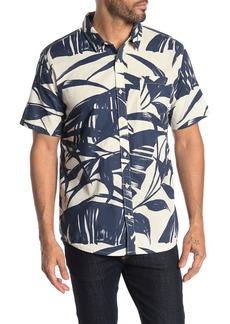 Quiksilver Mens Steel Breeze Short Sleeve Woven Top