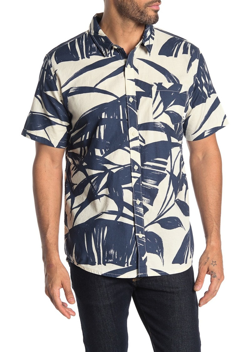 Quiksilver Steel Breeze Short Sleeve Hawaiian Shirt