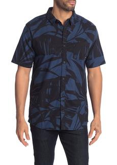 Quiksilver Steel Breeze Short Sleeve Shirt