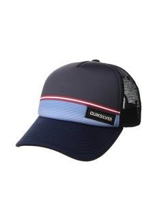 Quiksilver Stripe Stare Trucker Hat (Big Kids)
