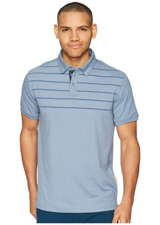 Quiksilver Striped Reel Backlash Technical Polo