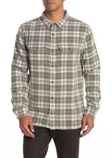 Quiksilver Strutten Blues Plaid Regular Fit Shirt