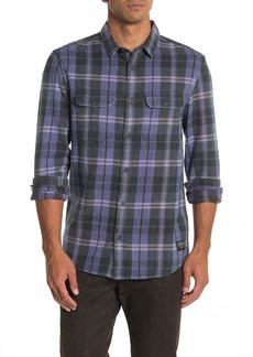 Quiksilver Super Plaid Flannel Modern Fit Shirt