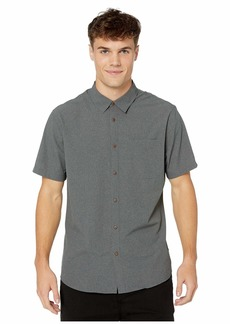 Quiksilver Tech Tides Short Sleeve Shirt