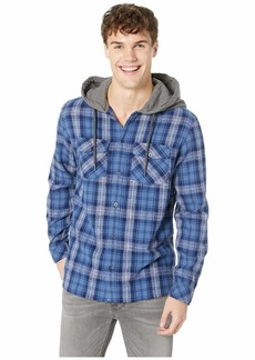 Quiksilver The Magston Hooded Flannel