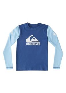 Toddler Boy's Quiksilver Heats On Long Sleeve Rashguard