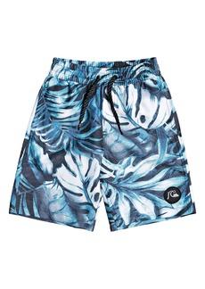 Toddler Boy's Quiksilver Highline Tropical Flow Board Shorts