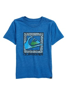 Toddler Boy's Quiksilver Kids' Boxed Logo Graphic Tee