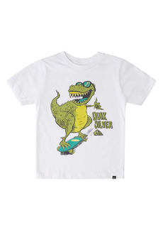 Toddler Boy's Quiksilver Kids' Dino Shred Graphic Tee