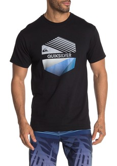 Quiksilver Triblock Short Sleeve Crew Neck Tee