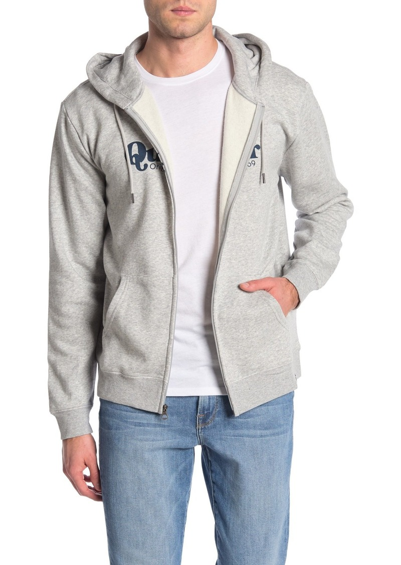 Quiksilver Twin Fin Mate Zip Up Hoodie