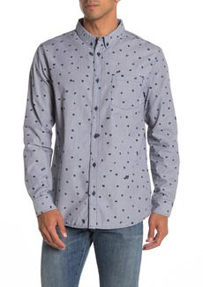 Quiksilver Valley Groove Floral Modern Fit Shirt