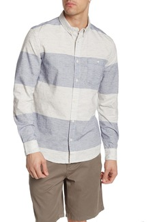 Quiksilver Valley Stripes Long Sleeve Modern Fit Shirt
