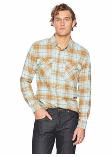 Quiksilver Wade Creek Long Sleeve Flannel Shirt