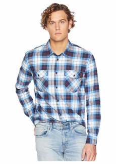 Quiksilver Wade Creek Long Sleeve Flannel Shirt