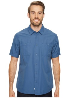Quiksilver Wake Solid Short Sleeve Woven Shirt