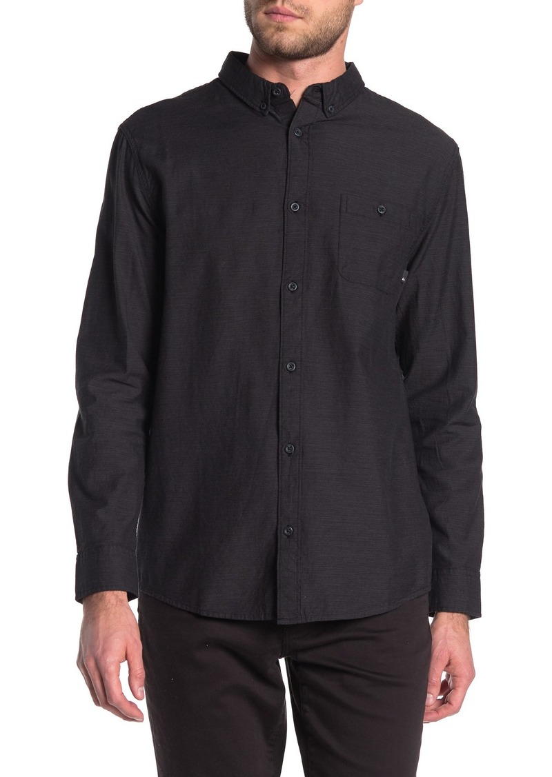 Quiksilver Waterfall Long Sleeve Regular Fit Shirt