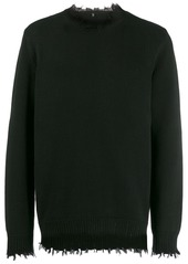 R13 distressed sweater