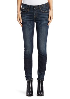 R13 Alison Cut-Out Back Hem Jeans