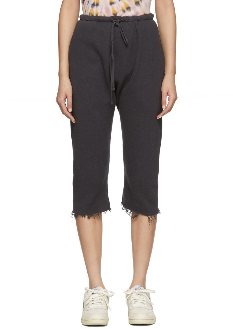 R13 Black Field Lounge Pants