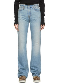 R13 Blue Colleen Jeans