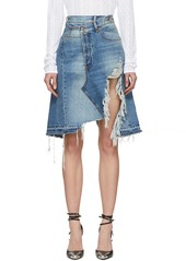 R13 Blue Denim Norbury Skirt
