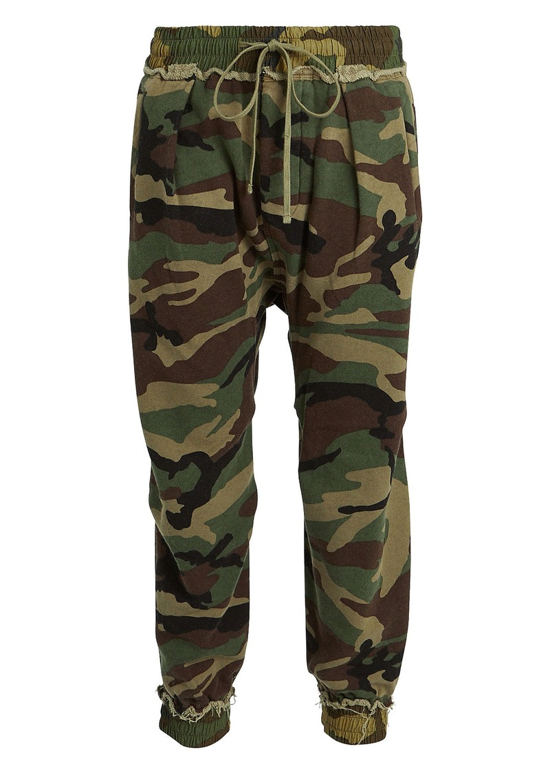 R13 Camouflage Harem Sweatpants