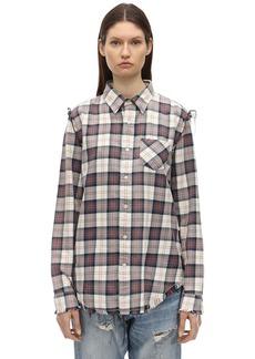 R13 Checked Cotton Shirt
