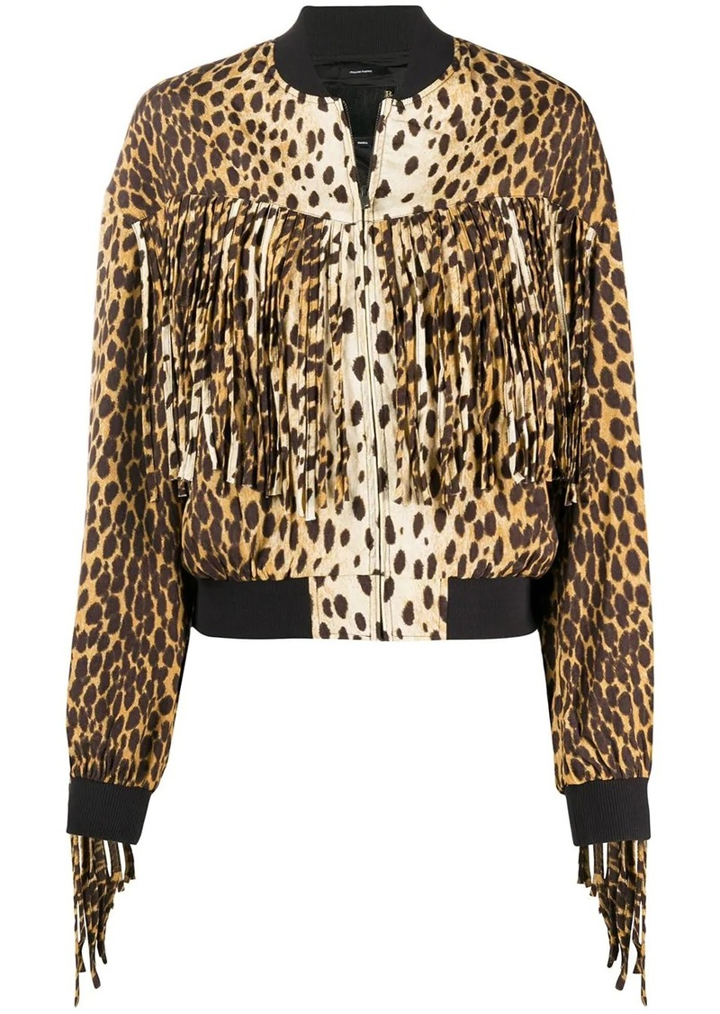 R13 Cheetah bomber jacket