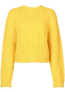 R13 chunky knit sweater