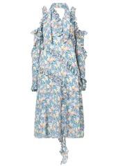 R13 cold shoulder floral print dress abv5a2925f5 a