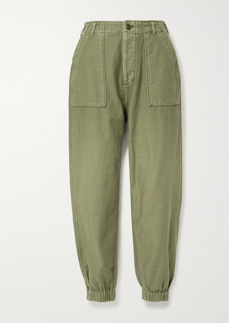 R13 Cotton-twill Tapered Pants