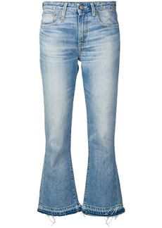 R13 cropped bootcut jeans