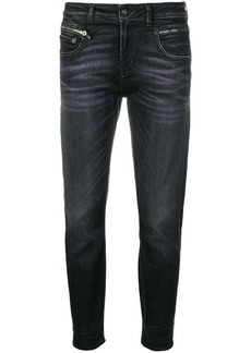 R13 cropped skinny jeans