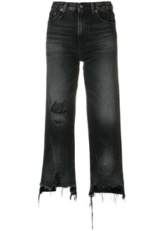 R13 distressed jeans