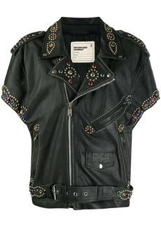 R13 embellished biker jacket